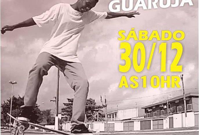 """Movimento """"Skate Vive Guarujá"""" na Yelow Plaza dia 30/12/17 - (Clique e Compartilhe)"""