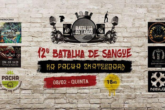 Pacha Skateboard Apresenta 12° Batalha de Sangue em Mairinque/SP - (Clique e Compartilhe)