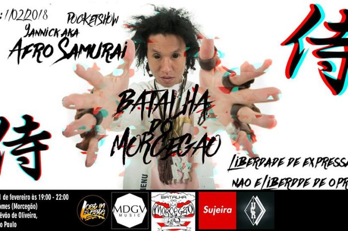 Rapper Yannick Hara faz Pocket Show na Batalha do Morcegão em São Paulo/SP- (Clique e Compartilhe)