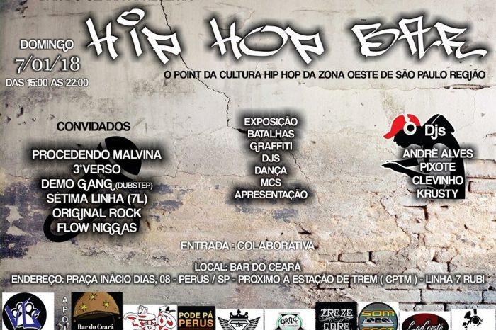 """Bar do Ceará Apresenta """"Hip Hop Bar"""" em Perus/SP - (Clique e Compartilhe)"""