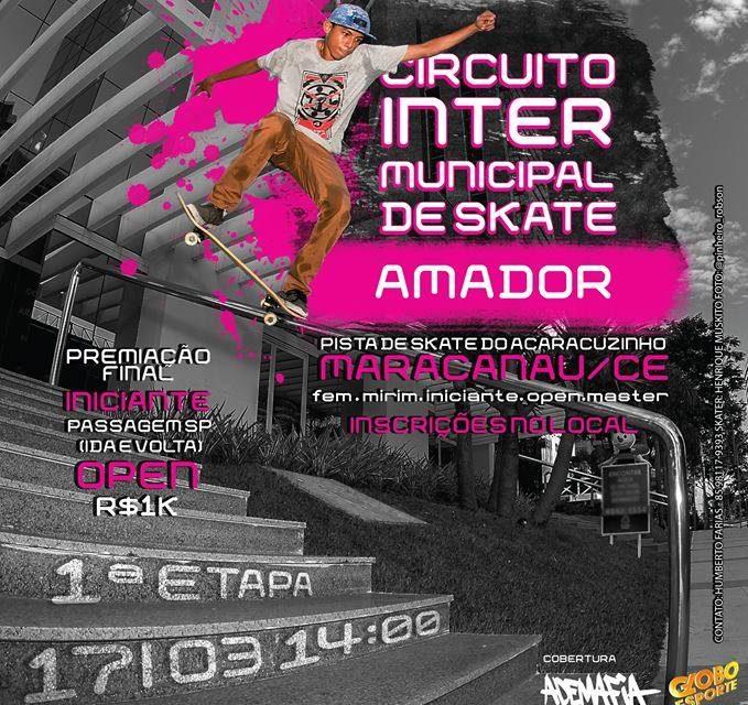 1° Etapa do Circuito Intermunicipal de Skate 2018 em Maracanaú/CE - (Clique e Compartilhe)
