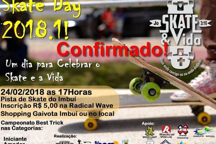Skate & Vida Apresenta Skate Day 2018 em Salvador/BA - (Clique e Compartilhe)