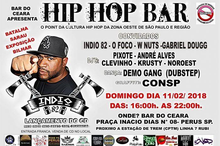 """Bar do Ceará Apresenta """"Hip Hop Bar - 3º Edição"""" em Perus/SP – (Clique e Compartilhe)"""