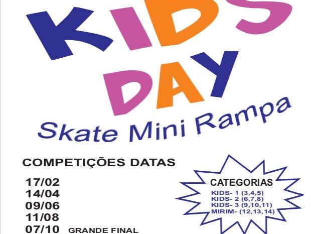 Skate Park – Jump The Gap Apresenta 3ª Etapa do Circuito 2018 SUPER KIDS DAY – (Clique e Compartilhe)