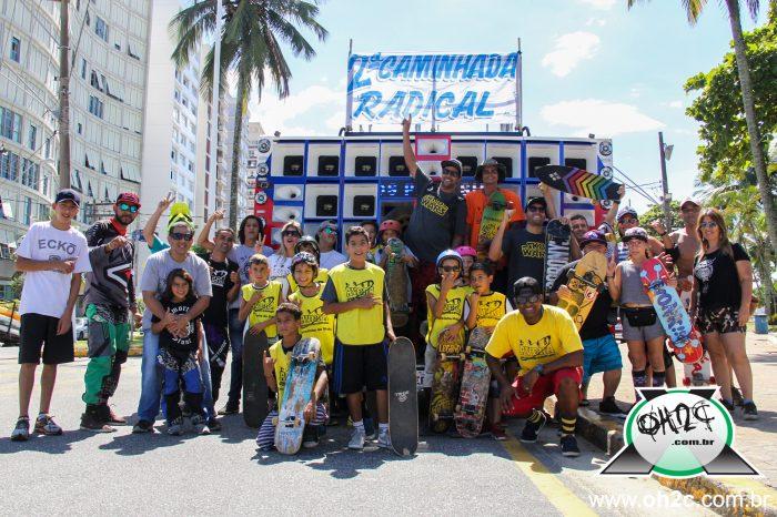 Sucesso na 2ª Caminhada Radical em Comemoração ao Dia do Skatista Vicentino Realizado pela FortStore e Avera- (Cique e Compartilhe)