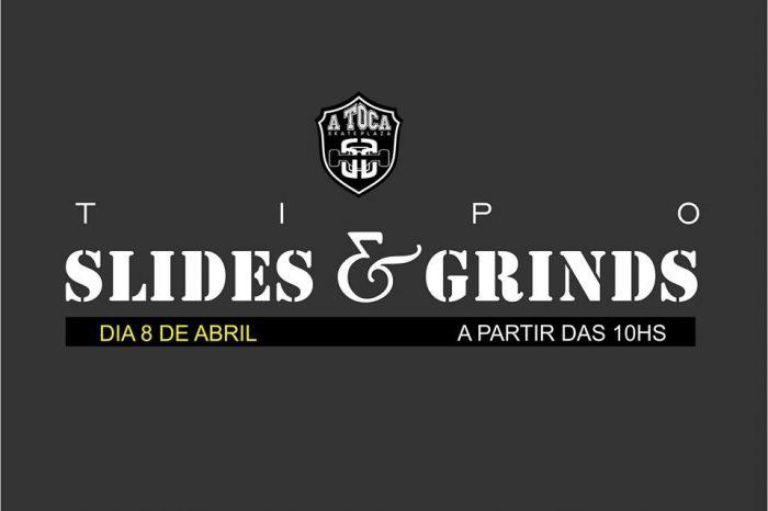 """A Toca Skate Plaza Apresenta """"Tipo Slides & Grinds"""" em São Vicente/SP - (Clique e Compartilhe)"""