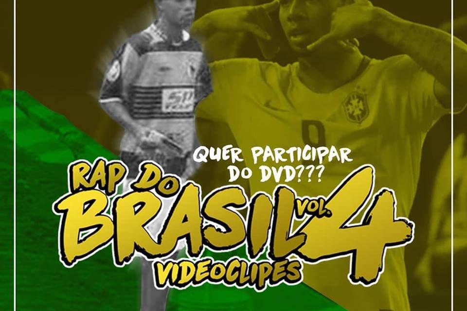 """Promoção - DVD de Vídeo Clipes """"Rap do Brasil Vol.04"""" - (Clique e Compartilhe)"""