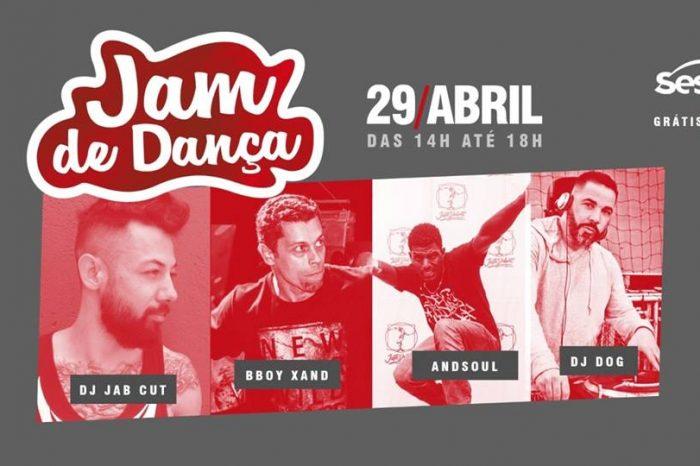 Sesc Jam de Dança 2018 em Santos/SP - (Clique e Compartilhe)