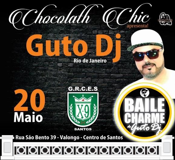 Chocolath Chic Apresenta Baile Charme Diretamente do Viaduto de Madureira/RJ com Guto DJ em Santos/SP - (Clique e Compartilhe)