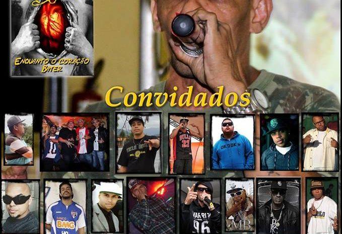 """Festa de Lançamento do CD """"Enquanto o Coração Bater"""" do Rapper Rhéu e Convidados em São Vicente/SP - (Clique e Compartilhe)"""