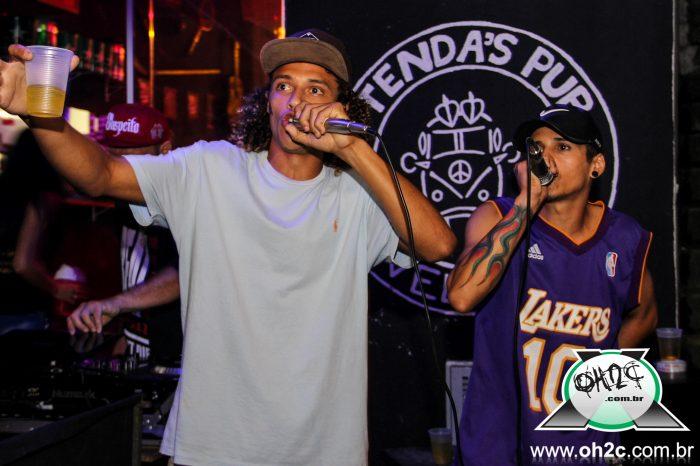 Fotos do Show Perímetro 13 e Convidados + RAP HOUR (batalha de freestyle) no Tenda's Pub em São Vicente/SP - (Clique e Compartilhe)