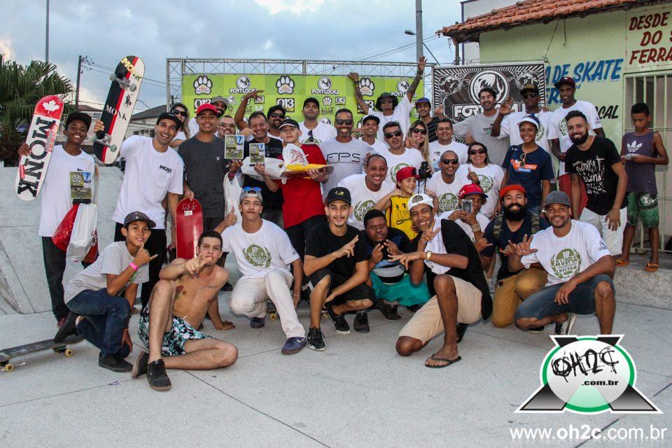 """Felipe """"Piolho"""" e Pedro Oliveira são Destaque na 1ª Etapa da 18º Edição do Circuito Avera de Skate Vicentino - (Clique e Compartilhe)"""