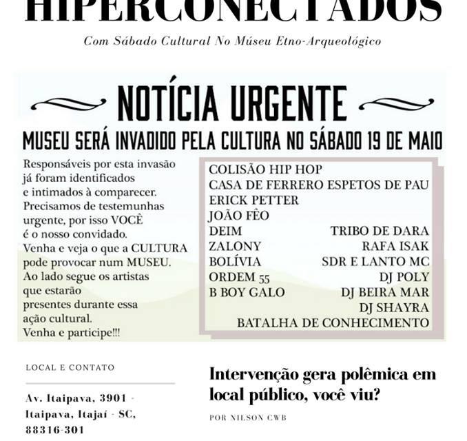 """Batalha de Conhecimento """"Valendo Premiação"""" no Museu Etno-Histórico de Itajaí/SC - (Clique e Compartilhe)"""