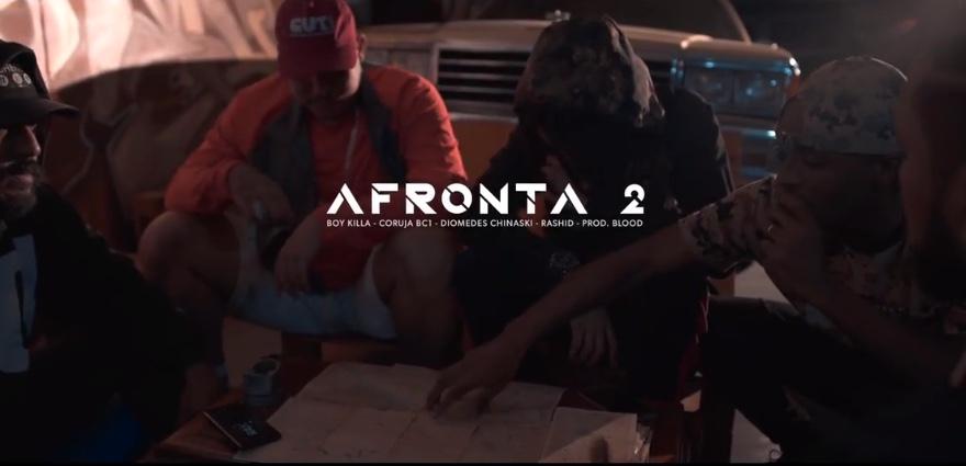 """Confira o Novo Vídeo Clipe do Rapper Boy Killa """"Afronta 2"""" com Prod. do Monstro da Baixada Santista Blood Beatz – (Clique e Compartilhe)"""