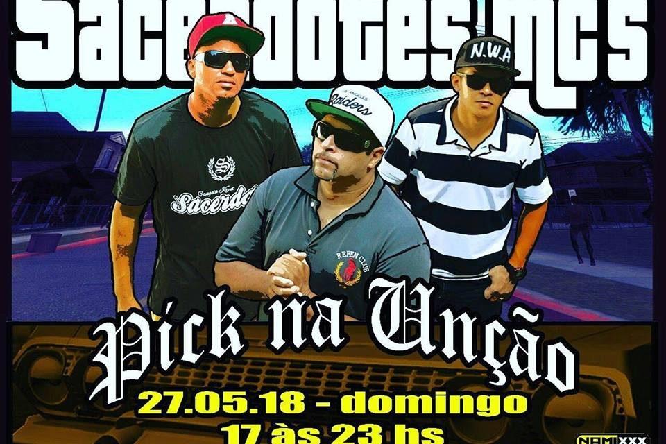 """Festa de Lançamento do CD do Grupo Sacerdotes Mc's Intitulado """"Pick na Unção"""" em São Vicente/SP - (Clique e Compartilhe)"""