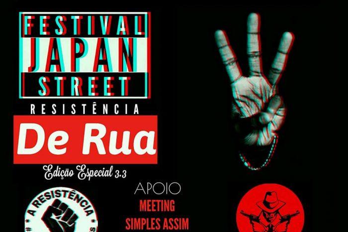 """Festival Japan Street """"Edição Resistência De Rua 3.3"""" em São Vicente/SP - (Clique e Compartilhe)"""