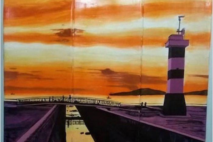 COLABORE - Projeto Baião do Bem está Rifando Arte Pintada a Mão no Shape de Skate - (Clique e Compartilhe)