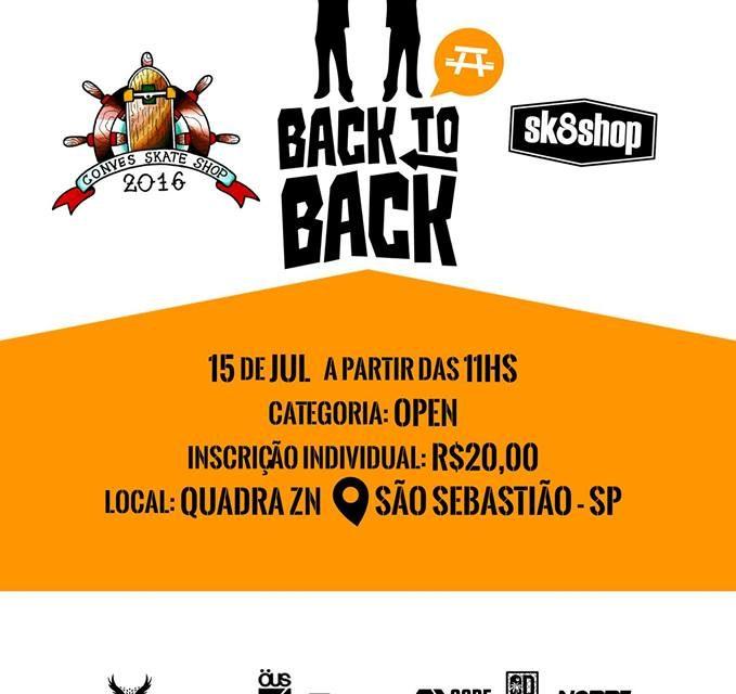 Convés Skate Shop e Sk8Shop Apresentam Back to Back na Mesa em São Sebastião/SP - (Clique e Compartilhe)