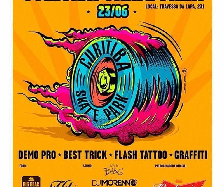 """Inauguração da Curitiba Skate Park """"Novo Ciclo do Skate Brasileiro"""" - (Clique e Compartilhe)"""