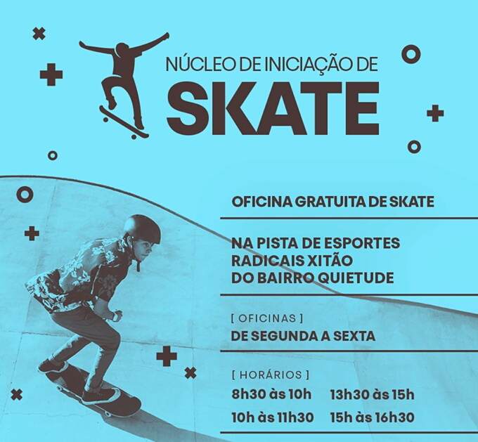 Núcleo de Iniciação de Skate da Prefeitura de Praia Grande/SP - (Clique e Compartilhe)