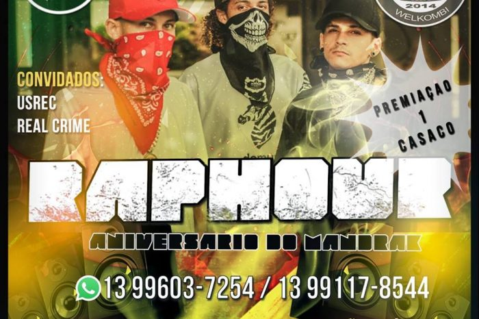 Tenda's Pub Apresenta 2º RAP HOUR (batalha de freestyle) + Aniver. do Rapper Mandrak (P13) - (Clique e Compartilhe)