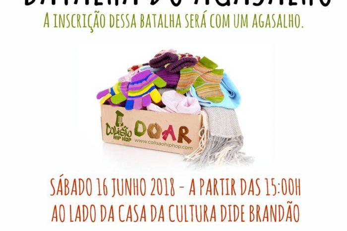 """Colisão Hip Hop Apresenta """"Batalha do Agasalho"""" em Itajaí/SC – (Clique e Compartilhe)"""