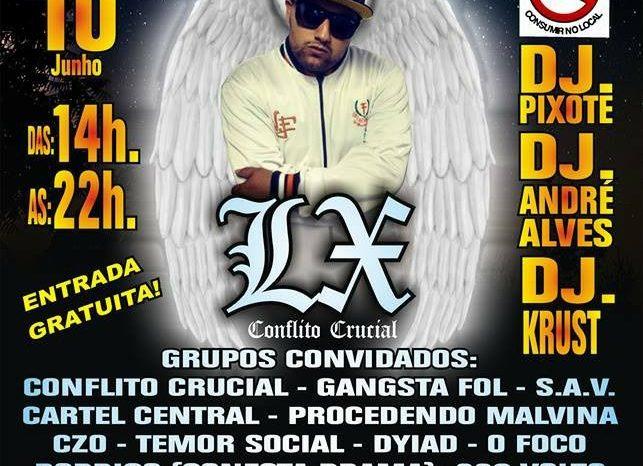 """Bar do Ceará Apresenta Hip Hop Bar – 7º Edição """"Tributo ao Rapper LX do Conflito Crucial"""" em Perus/SP – (Clique e Compartilhe)"""