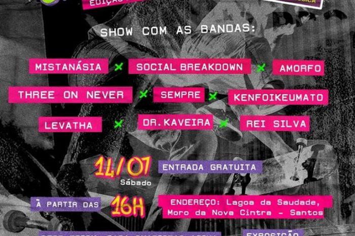 """Underground Street Fest """"Edição Santos"""" + Zumbi Skate Arte Music - (Clique e Compartilhe)"""