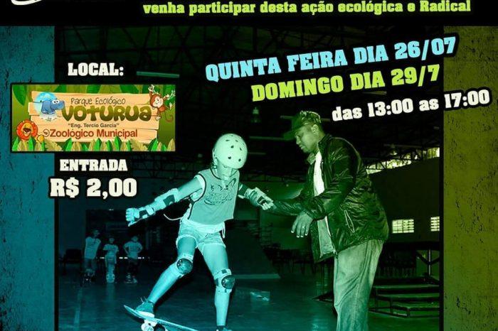 """A Escolinha de Skate """"AVERA"""" Realizará Aulas de Skate no Parq. Ecológico Voturuá em São Vicente/SP - (Clique e Compartilhe)"""