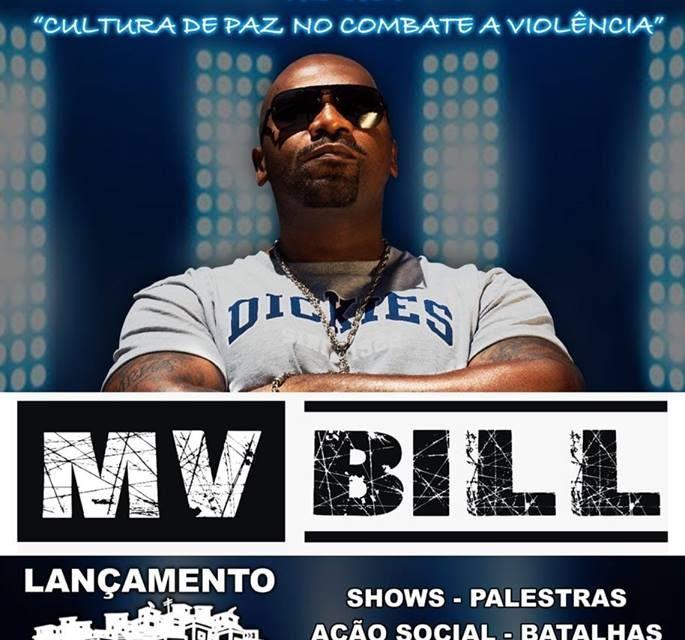 MRF Produções e Ong Procuru Apresentam Rapper MV Bill na Zona Noroeste em Santos/SP - (Clique e Compartilhe)
