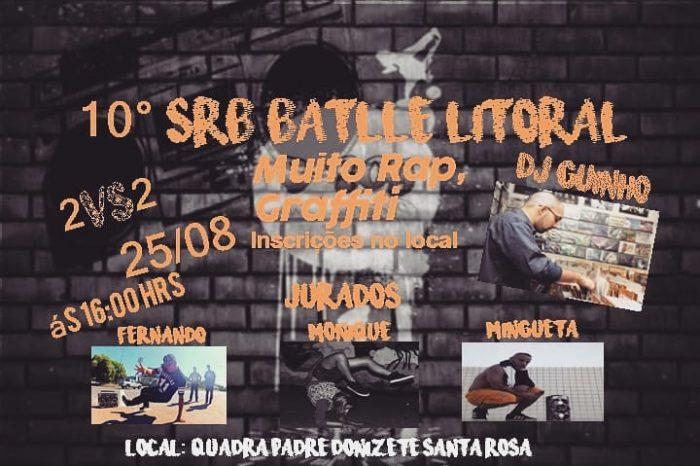 """10ª Edição do SRB Battle Litoral """"Campeonato de Dupla de Breaking"""" no Guarujá/SP – (Clique e Compartilhe)"""