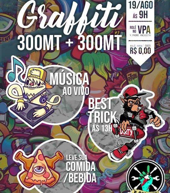 Grande Encontro de Grafiteiros de Campinas e Região na Praça da Integração no Padre Anchieta- (Clique e Compartilhe)