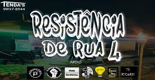 """Resistência De Rua Apresenta 4º Edição """"Rap Hour!"""" em São Vicente/SP - (Clique e Compartilhe)"""