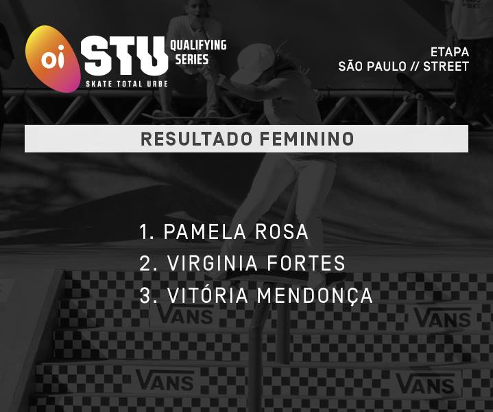 """Pâmela Rosa e Tiago Lemos Conquistam o 1º Lugar no Oi STU Qualifying Series """"Etapa São Paulo"""" - (Clique e Compartilhe)"""