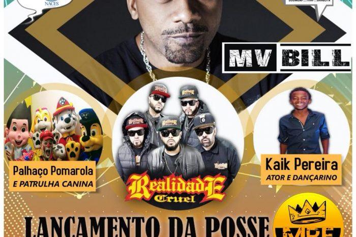 Programação Completa da Festa de Lançamento da Posse MRF com a Presença do Rapper MV Bill e Convidados - (Clique e Compartilhe)