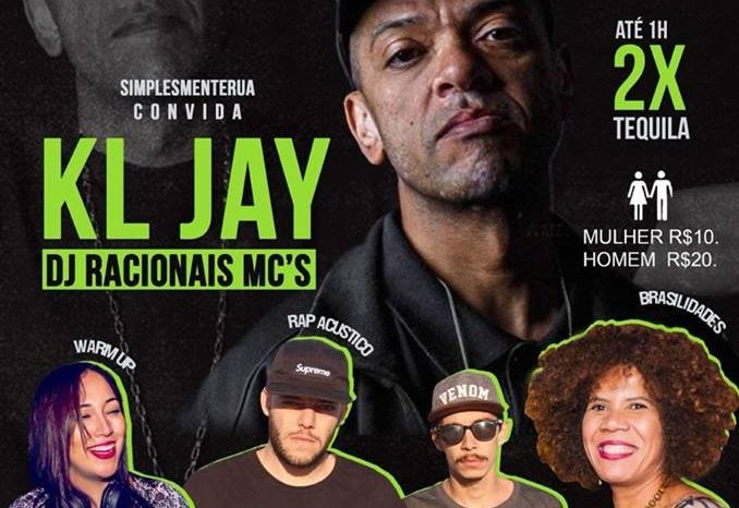 """Simplesmenterua Convida DJ Kl Jay """"Racionais Mc's"""" e Convidados na Casa SKY em Praia Grande/SP - (Clique e Compartilhe)"""
