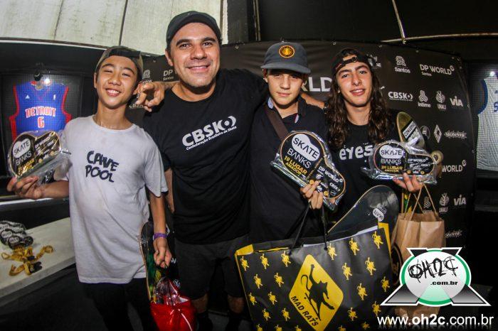 Baixada Santista Conquista 3 Pódios no Campeonato Brasileiro de Skate Banks em Santos/SP - (Clique e Compartilhe)