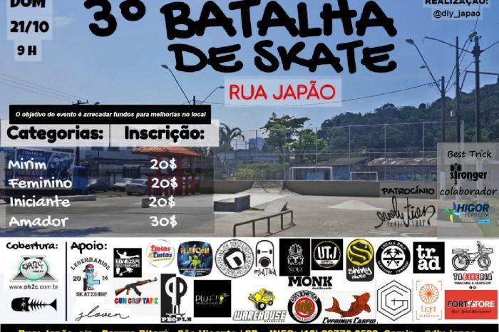 3° Batalha Street Japan de Skate na Rua Japão em São Vicente/SP – (Clique e Compartilhe)