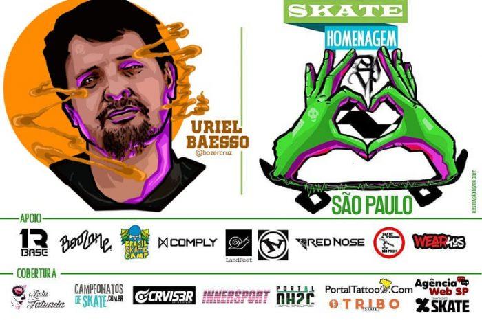 Skate Homenagem São Paulo Apresenta Uriel Baesso – (Clique e Compartilhe)