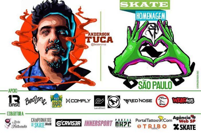Skate Homenagem São Paulo Apresenta Anderson Tuca – (Clique e Compartilhe)
