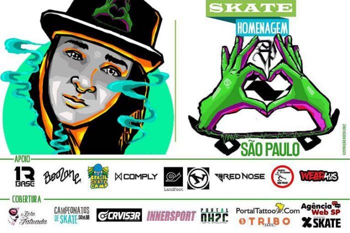 Skate Homenagem SP Apresenta seus Artistas - (Clique e Compartilhe)