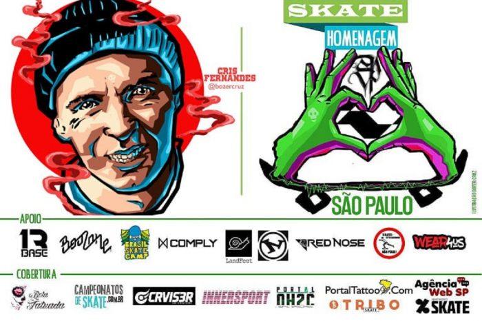 Skate Homenagem São Paulo Apresenta Cris Fernandes - (Clique e Compartilhe)