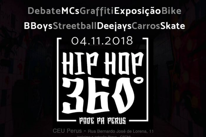 """Hip Hop 360º Grau Apresenta """"2º Edição do Hip Hop 360º Pode Pá Perus"""" - (Clique e Compartilhe)"""