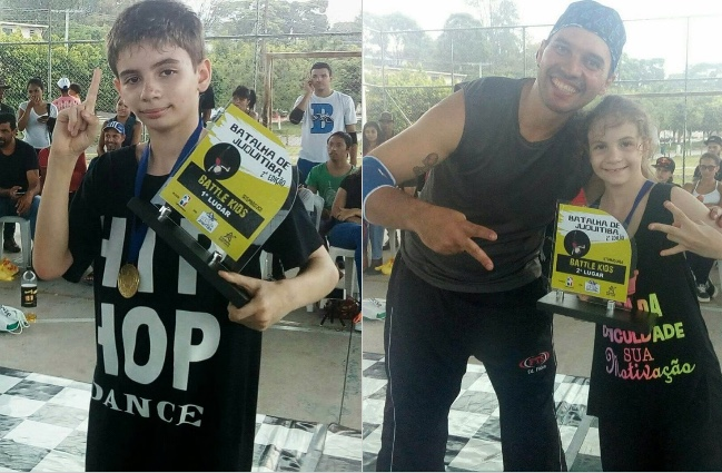 Irmãos de Itanhaém Ganham Campeonato de Breaking em Juquitiba/SP - (Clique e Compartilhe)