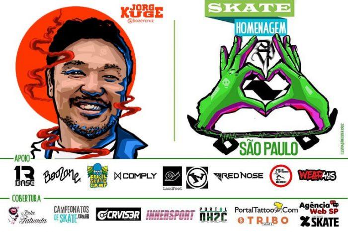 Skate Homenagem São Paulo Apresenta Jorge Kuge – (Clique e Compartilhe)