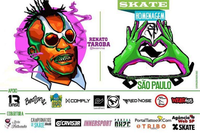Skate Homenagem São Paulo Apresenta Renato Taroba – (Clique e Compartilhe)