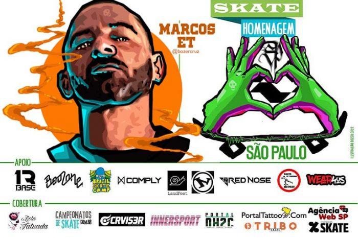 Skate Homenagem São Paulo Apresenta Marcos ET – (Clique e Compartilhe)