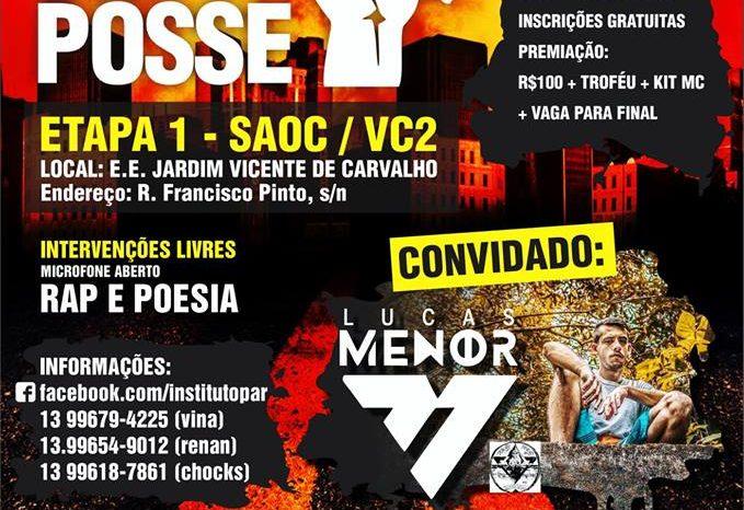 """PossePar Apresenta """"Circuito Municipal de Batalha de Mc's"""" em Bertioga/SP - (Clique e Compartilhe)"""