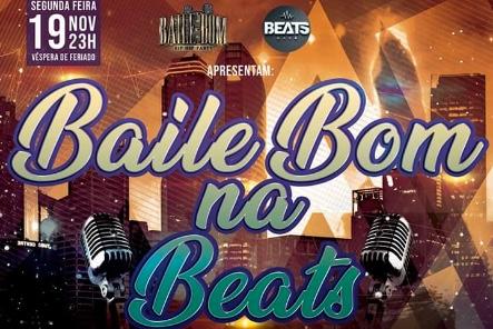 """Baile Bom – Hip Hop Party Apresenta """"Baile Bom na Beats"""" em Santos/SP - (Clique e Compartilhe)"""