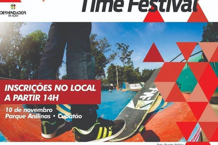 Primeiro Skate Time Festival no Novo Parque Anilinas em Cubatão/SP - (Clique e Compartilhe)